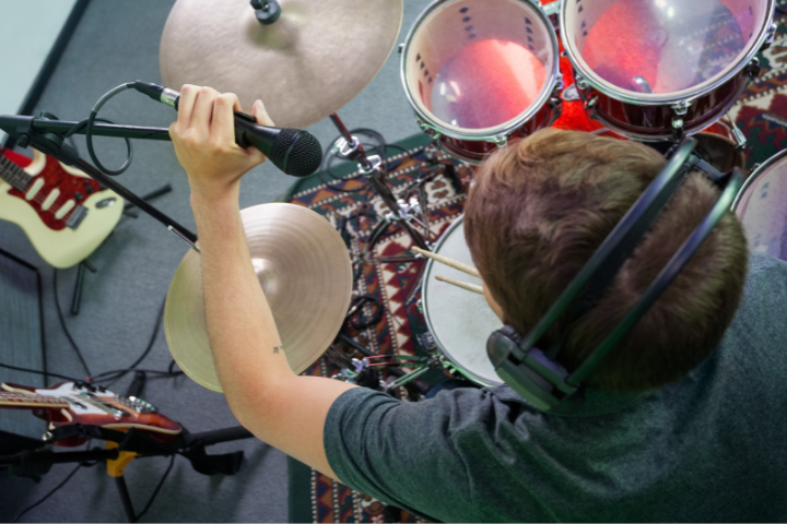 Why Do Drummers Wear Headphones When They Play
